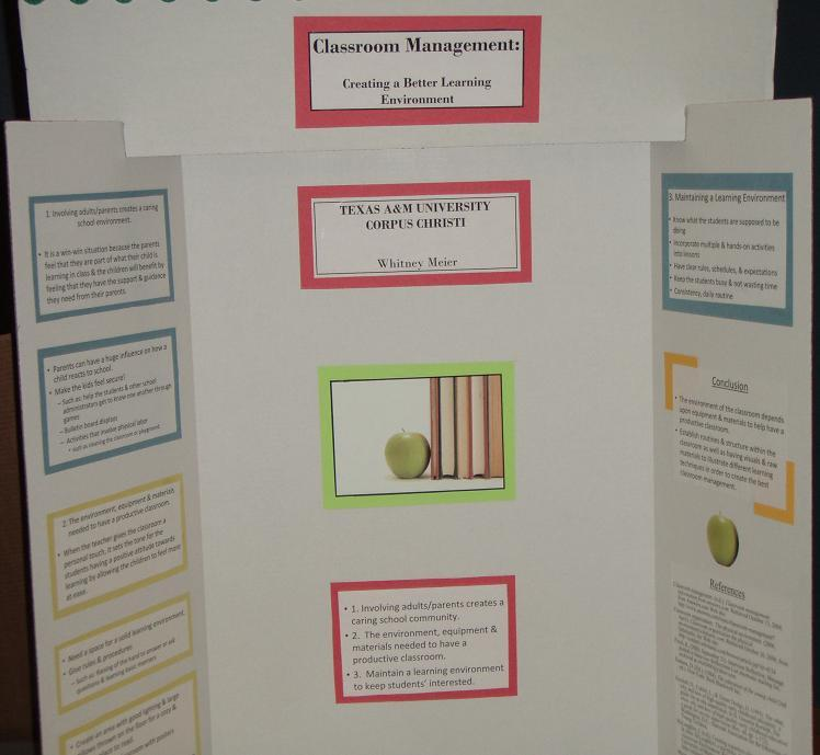 adam webb / Please sample poster board presentations