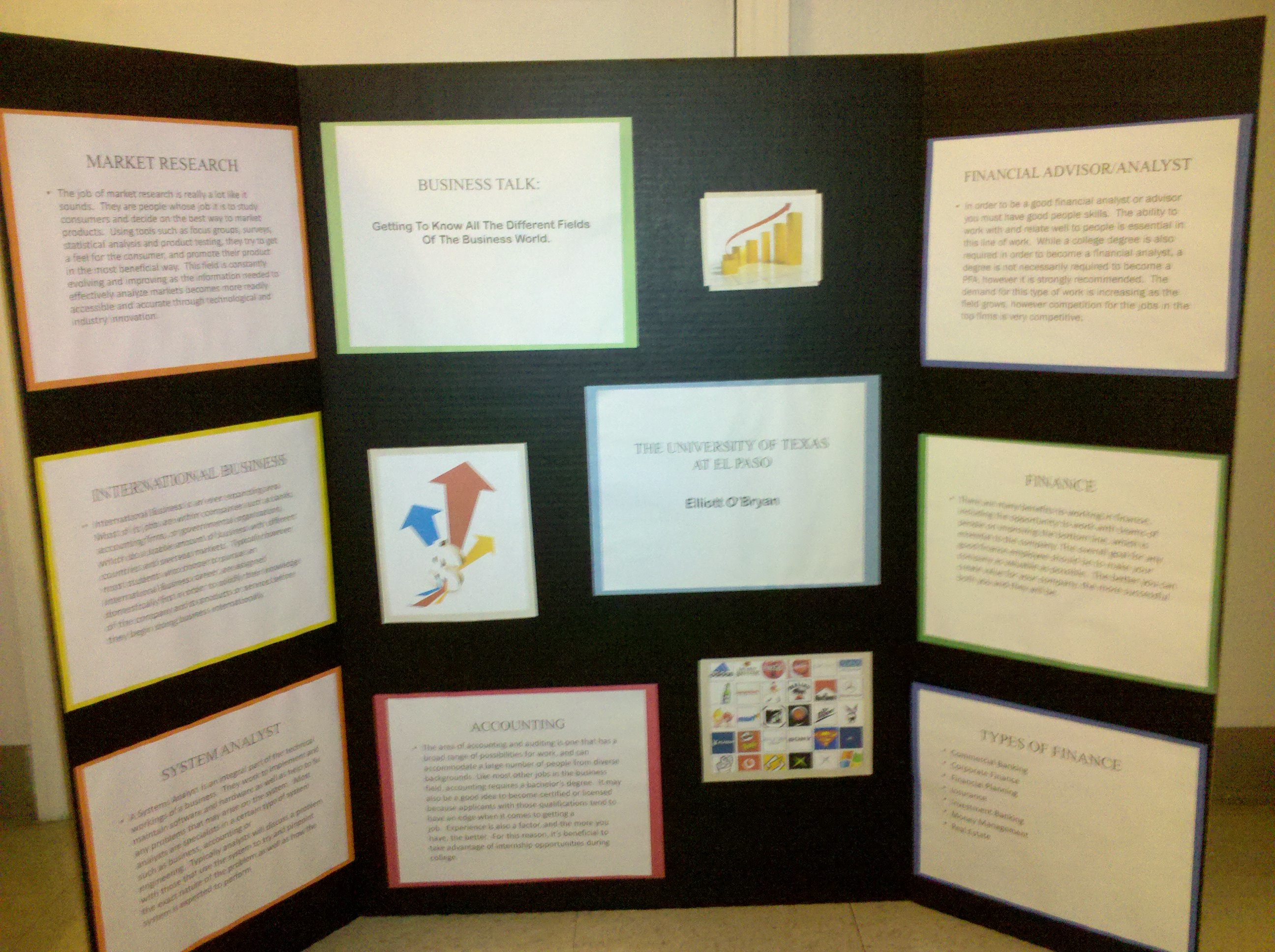 adam webb please sample poster board presentations